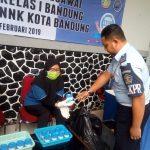 Tes Urine di Rutan Kebonwaru Bandung