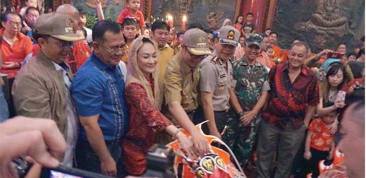 Kemeriahan Imlek di Kota Sukabumi