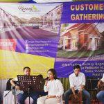 Customer Gathering Bogor Raya Residential di Marketing Gallery Jalan Pajajaran Nomor 33 C-D Sabtu (16/3) (rishad)
