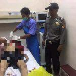 kondisi Galih saat dibawa ke rumah sakit