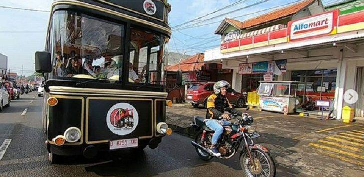 Bus Wisata Kidang Pananjung./Foto: Istimewa