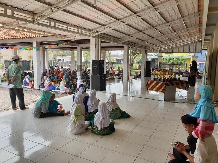 Bukan Hanya Wifi Gratis, Masjid Ussisa 'Ala T- Taqwa Bodesari Cirebon Klaim Ramah Anak