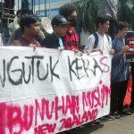 Buntut Penembakan Warga Muslim di New Zealand, GPBR Bogor Gelar Aksi Solidaritas