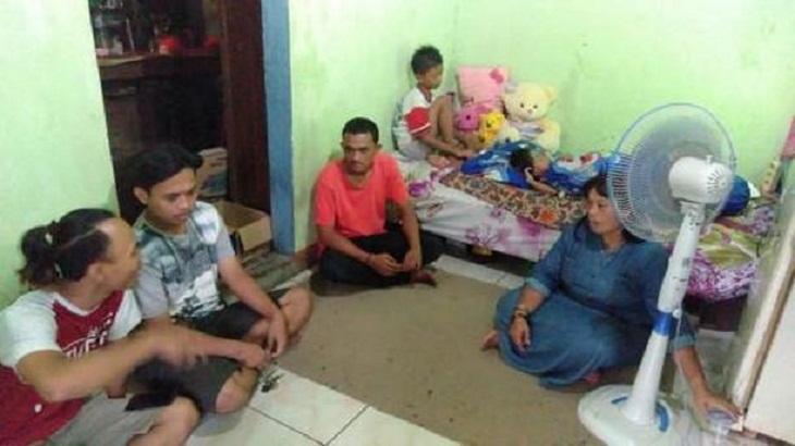 DPC XTC Cirebon Kota kunjungi Keluarga Bela