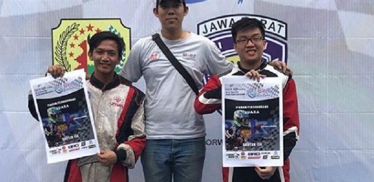 Gugun Wiranto,(kanan), Oddhy Stefanus Prihadi (tengah), dan Andi Mulyono (kiri), pemenang Cirebon Katon Championship 2019, Minggu (17/3/2019)./Foto: Istimewa