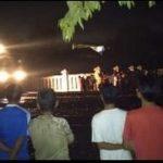 Evakuasi Warga Terlindas Kereta di Cangkring