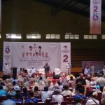 Fadli Zon pada pembekalan relawan di GOR Pajajaran Kota Bogor (adi)
