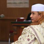 Habib Bahar Smith mengikuti sidang di PN Bandung (arif)