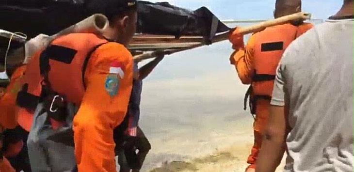 Tim Sar Temukan Satu Orang Yang Hilang di Pantai Cipalawah Garut