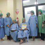 Pasien yang mendapat operasi katarak. (ist)
