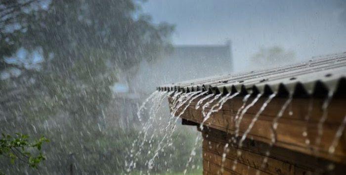 Ilustrasi hujan ringan.