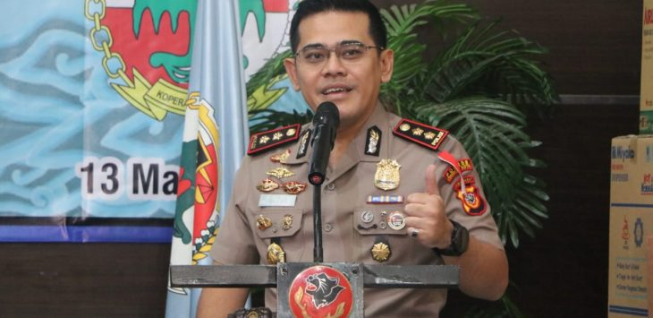 Kapolres Cirebon Kota, AKBP Roland Ronaldy. Alwi/pojokjabar