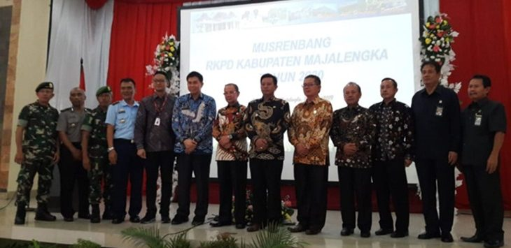 Musrenbang Rencana Kerja Pembangunan Daerah (RKPD) tahun 2020 tingkat Kabupaten Majalengka, di Aula Islamic Center Majalengka, Kamis (21/3) kemarin./Foto: Rmol