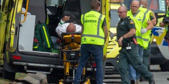 Kondisi korban penembakan di masjid di Selandia Baru (ist)