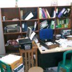 Lokasi laptop di SMK Mutiara Insani Cibinong yang digondol maling (rishad)