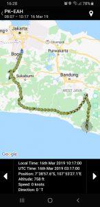 Lokasinya jatuhnya helikopter di Tasikmalaya Jawa Barat (ist)