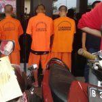 Menyamar, Polisi Ringkus 4 Maling Motor yang Biasa Beraksi di Rawa Lumbu
