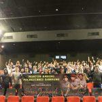 Nonton bareng Polrestabes Bandung film Pohon Terkenal di bioskop (arif)
