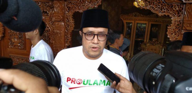 Kepada wartawan, Ono Surono beberkan target kemenangan Jokowi-Ma'ruf Amin