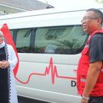 PMI Purwakarta Dapat Kendaraan Operasional dari Bupati Cantik