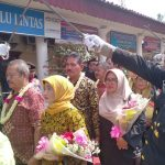 Pelepasan personel Polres Cirebon Kota yang memasuki masa pensiun (kirno)