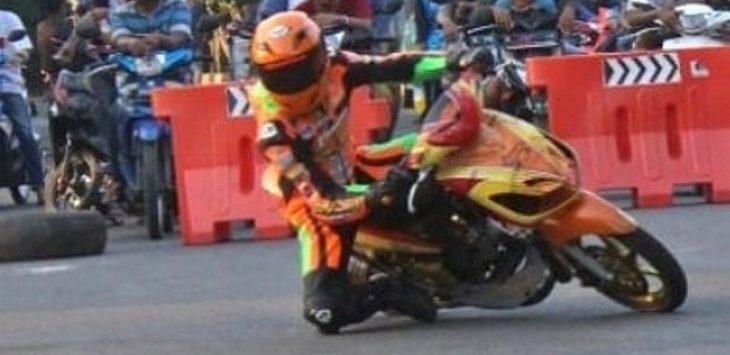 Momen latihan pembalap Cirebon di Stadion Bima./Foto: Istimewa