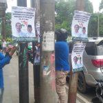 Penertiban APK Caleg dan Capres oleh Bawaslu Kota Bogor (adi)