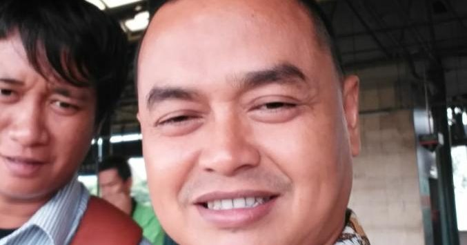 Hadi Permana, salah satu warga Muhammadiyah Lemahabang. Indra/pojokjabar