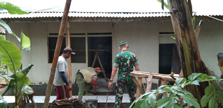 Program Rutilahu Satgas TMMD ke-104 Kodim/ 0615 Kuningan./fOTO: RMOL