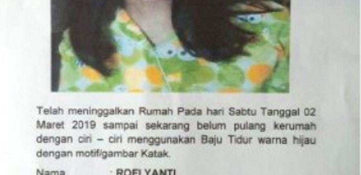 Rofi Yanti, gadis ABG yang hilang di Indramayu./Foto: RC