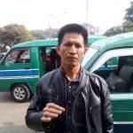 Salah satu supir angkot Kota Bandung yang menolak wacana ASN naik Grab ke kantor (arif)