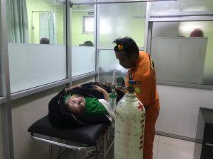 Salah seorang korban helikopter jatuh di Tasikmalaya Jawa Barat (arif)
