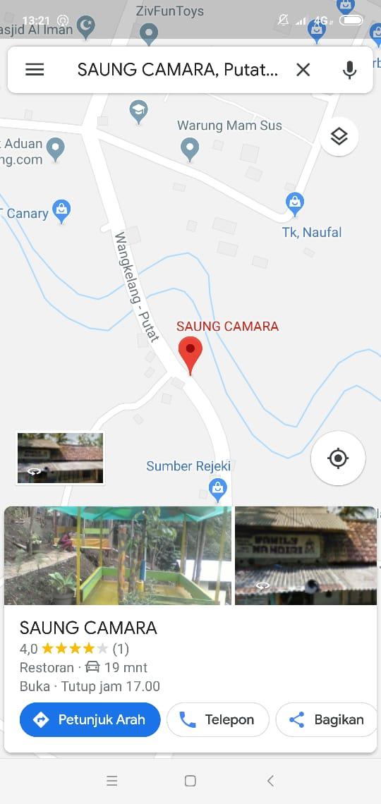 Saung Camara Cirebon