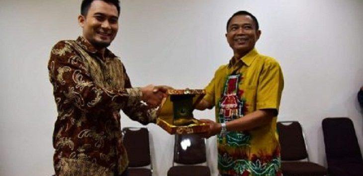 Sekretariat DPRD Kalsel Kunjungi DPRD Jabar, Jumat (15/3/2019)./Foto: Arief