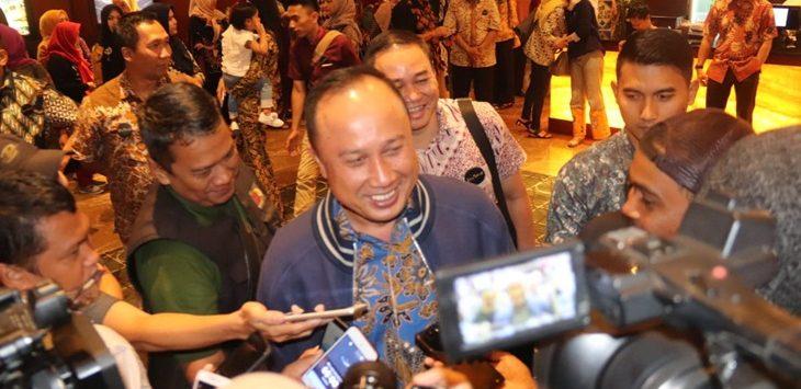 Kapolda Jabar Irjen Pol Agung Budi Maryoto usai nobar film Pohon Terkenal pada Kamis (21/3/2019) malam di XXI Premiere Ciwalk Cihampelas./Foto: Arief