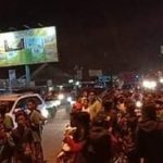 Suasana wilayah Cirebon saat Bonek melewati daerah tersebut