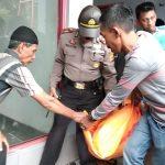 Supir angkot yang tewas di toilet SPBU Jalan Pajajaran seberang RS Azra (adi)