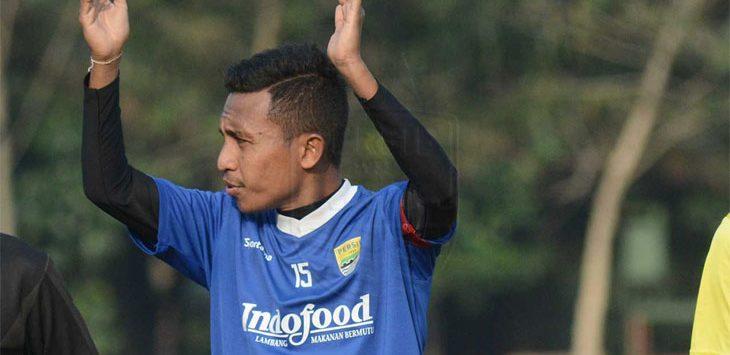 Pemain muda Persib Bandung, Muhammad Syafril Lestaluhu. Ist