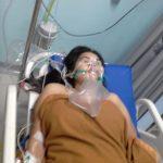 Wanita yang ditusuk di Ciriung Cibinong sedang menjalani perawatan intensif di rumah sakit (rishad)