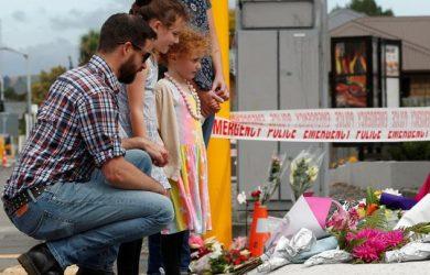 Warga Selandia Baru berduka bagi korban penembakan jamaah masjid di sana (Reuter jorge silva)