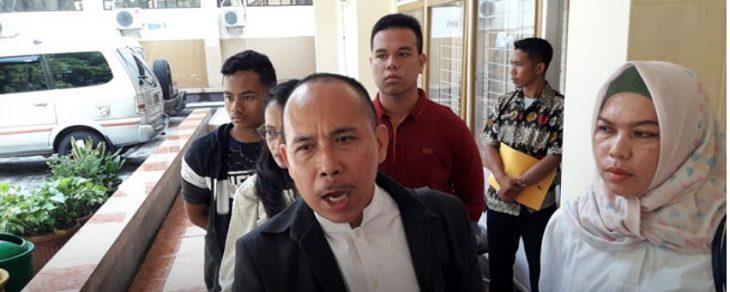 Pihak komite usai mengakukan kasus yang menimpa anaknya /Foto: RMOL