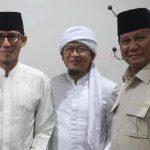 Aa Gym bersama Prabowo-Sandi (ist)