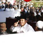 Belum Sarapan, Prabowo Nyoblos Ditemani Fadli Zon, Nanya Ke Wartawan