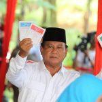 Capres Prabowo pada Pilpres 2014 lalu (radarbogor)