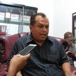 H Mustofa SH, Ketua DPC PDI Perjuangan Kabupaten Cirebon. Ghofar/pojokjabar