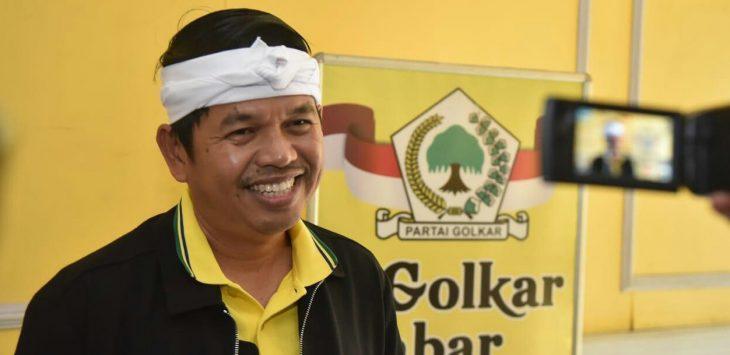 Ketua DPD Golkar Jabar, Dedi Mulyadi. (ist)