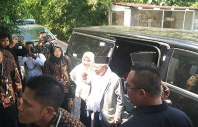 Demi Isra Mi'raj di Sukabumi, Cawapres Ma'ruf Amin Sambangi Sukabumi