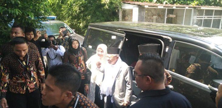 Ma'ruf Amin Sambangi Sukabumi./Foto: Rmol