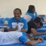 Demi Masa Depan Atlet, Puluhan Pelatih Berbagai Cabor Belajar Sport Massage dan Reposisi Cedera