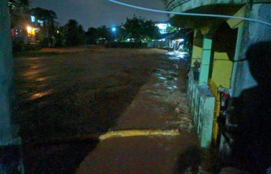 Foto-foto Wilayah Bogor Timur Banjir, Warga Klaim TMA Bendung Katulampa Naik